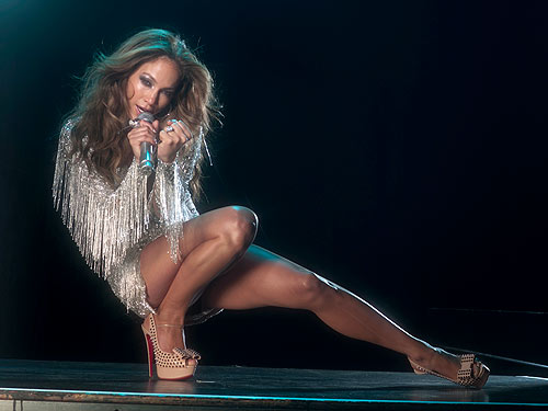 Jennifer Lopez Legs Venus Embrace