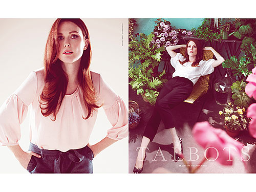 Julianne Moore for Talbots