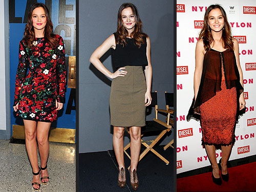Leighton Meester 3 Looks