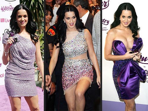Katy Perry 3 Looks 1 Day