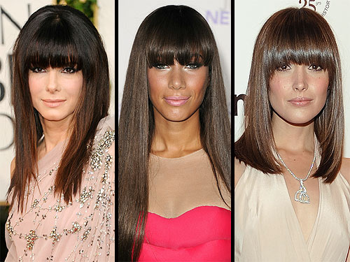 Sandra Bullock Sparks a Hollywood Blunt Bangs Trend: Love It or Hate It?