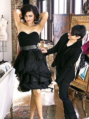Christian Siriano for Spiegel