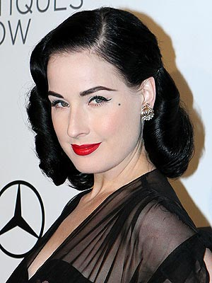Dita Von Teese Working on a Fragrancel