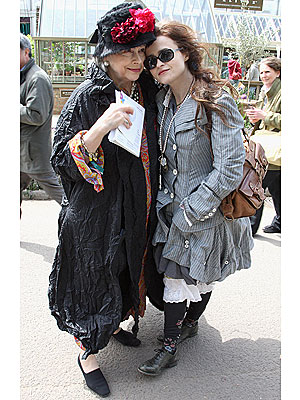 Helena Bonham Carter Gets Style from Mother