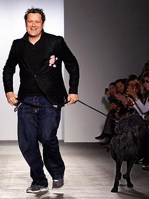 Isaac Mizrahi's Poodle Runway show