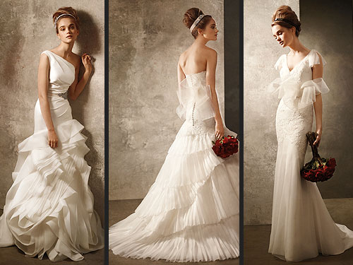 Vera Wang Creates Line for David's Bridal