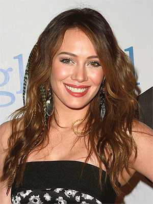 Hilary Duff with Darker Hair