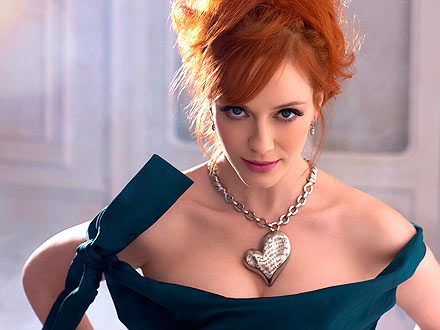 Christina Hendricks Palladium Jewelry