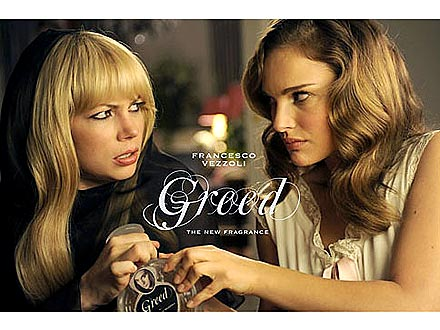 Natalie Portman and Michelle Williams Fragrance Ad