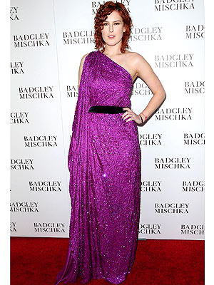 Rumer Willis Badgley Mischka