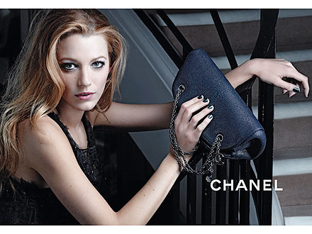 Blake Lively Chanel ads