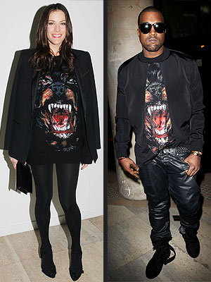 Liv Tyler and Kanye West Givenchy