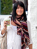 Selma Blair Theodora and Callum Scarves