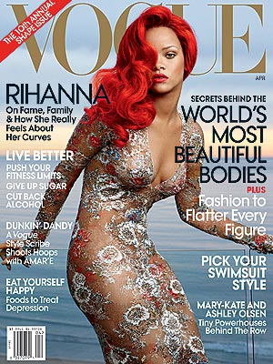 Rihanna on Her Body, Style, Hair