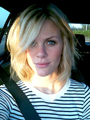 Brooklyn Decker Chops 10 Inches Off Her Hair