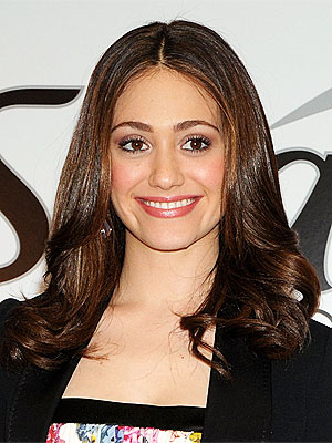 Emmy Rossum Steers Clear of Scissors