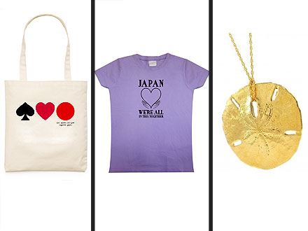 Designers Offer Products for Tsunami Relief Effort