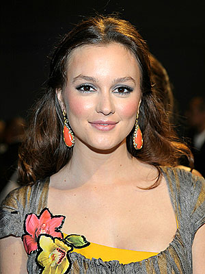 Leighton Meester Prefers Drugstore Beauty Brands