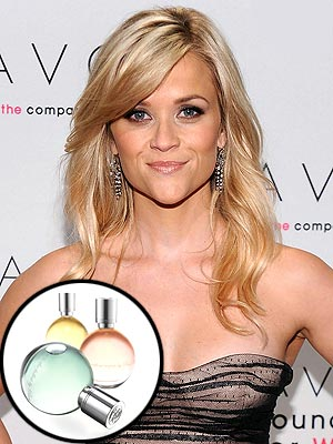 Reese Witherspoon Launches Expressions Fragrances for Avon