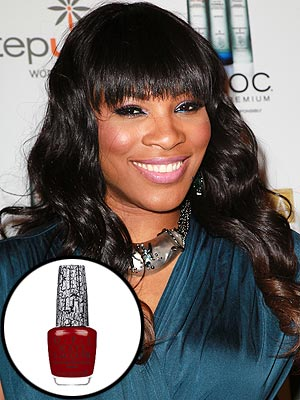 Serena Williams Creates Nail Polish Line for OPI