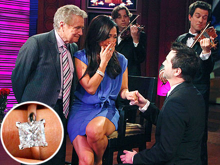 Carrie Ann Inaba Engagement Ring