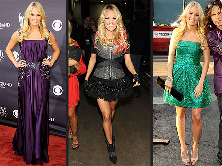 Carrie Underwood ACM Fashion