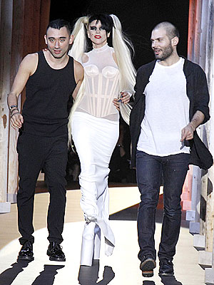 Lady Gaga Mugler Fashion Show