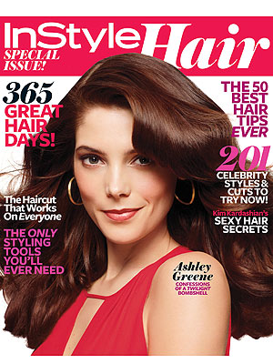 Ashley Greene InStyle Hair
