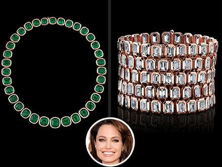 Angelina Jolie's Style of Jolie Jewelry