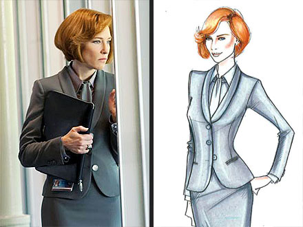 Cate Blanchett Wears Armani in Hanna