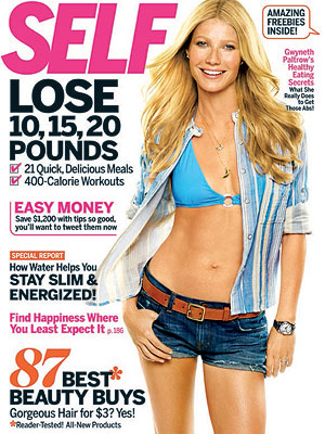 Gwyneth Paltrow Bares Her Bikini Body for SELF