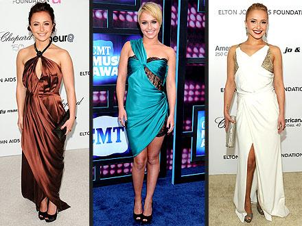 Hayden Panettiere's Favorite Dresses