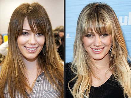 Hilary Duff explains her constant hair changes