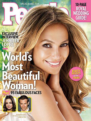 Jennifer Lopez World's Most Beautiful Cover