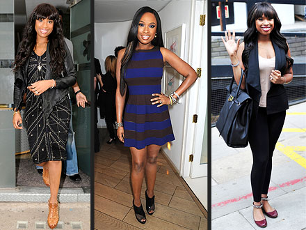 Jennifer Hudson Slim Style in London