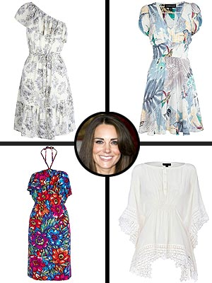 Kate Middleton Honeymoon Shopping
