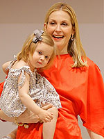 Kelly Rutherford and Kids Model Fendi