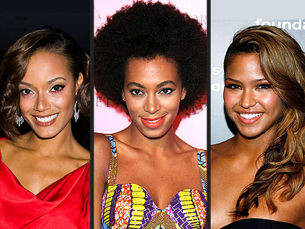 Cassie, Solange Knowles and Selita Ebanks are new faces of Carol's Daughter
