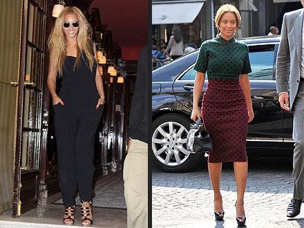 Beyonce Paris Fashion