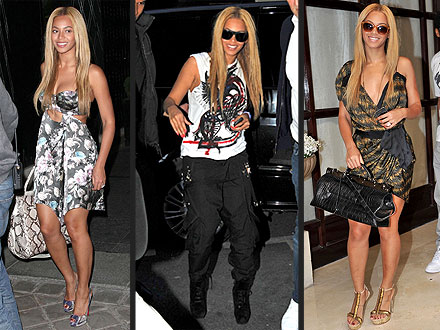 Beyonce Paris Fashion