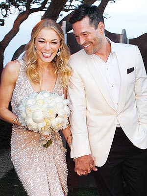 LeAnn Rimes Wedding Photo