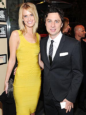 Zach Braff's Stylist? His Girlfriend