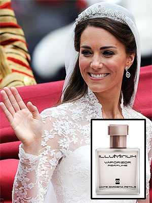Kate Middleton Wedding Perfume