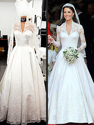 kate middleton wedding dress knockoff style news