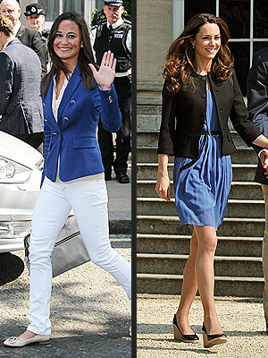 Kate Middleton, Pippa in Zara