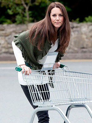 Kate Middleton at the Grocery Store