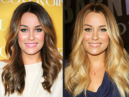 Lauren Conrad hair colors