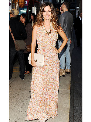 Rachel Bilson in Derek Lam for eBay