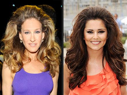Cheryl Cole, Sarah Jessica Parker hair