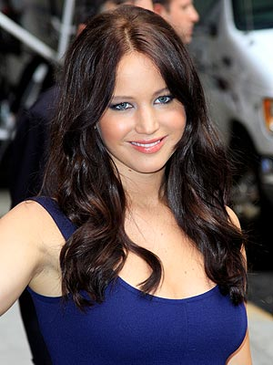 Jennifer Lawrence Goes Brunette